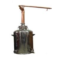 """26 Gallon 4"""" Copper Column Pot Still - No Reflux (Image shown with SATIN finish)"""
